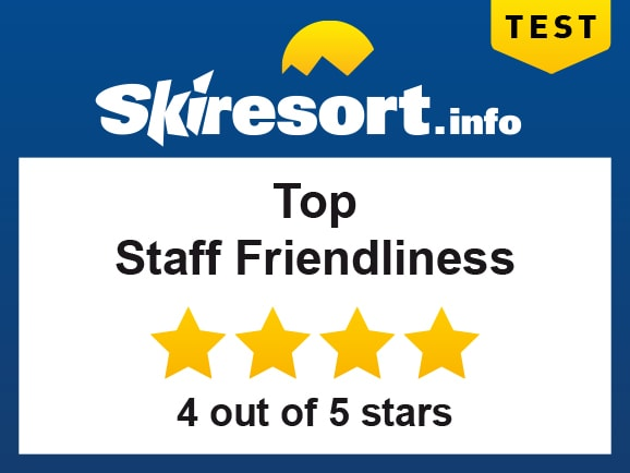 Top Staff Friendliness